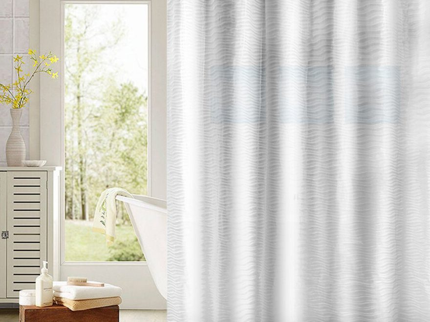 What is a PEVA Shower Curtain? | Peachy Rooms