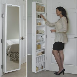 Behind Door Bathroom Storage Solution For Small and All Bathrooms
