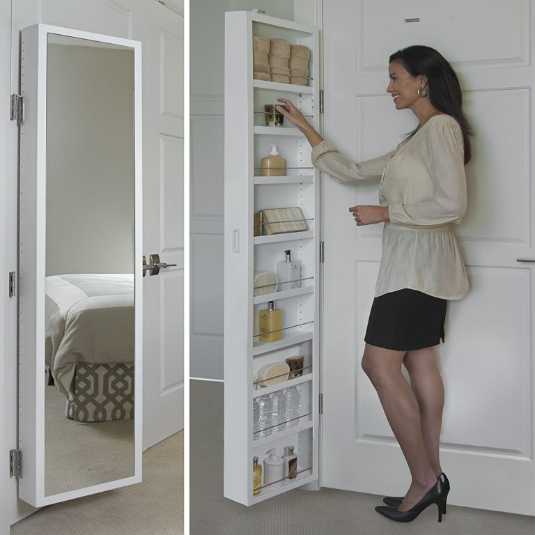 The Best Behind Door Bathroom Storage Solutions For Small and All Bathrooms