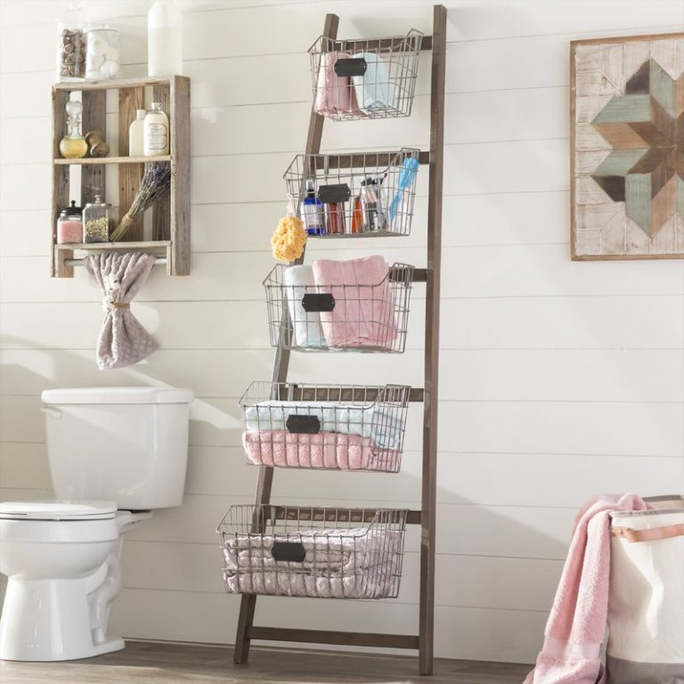 15 Bathroom Storage Ideas for Small Spaces