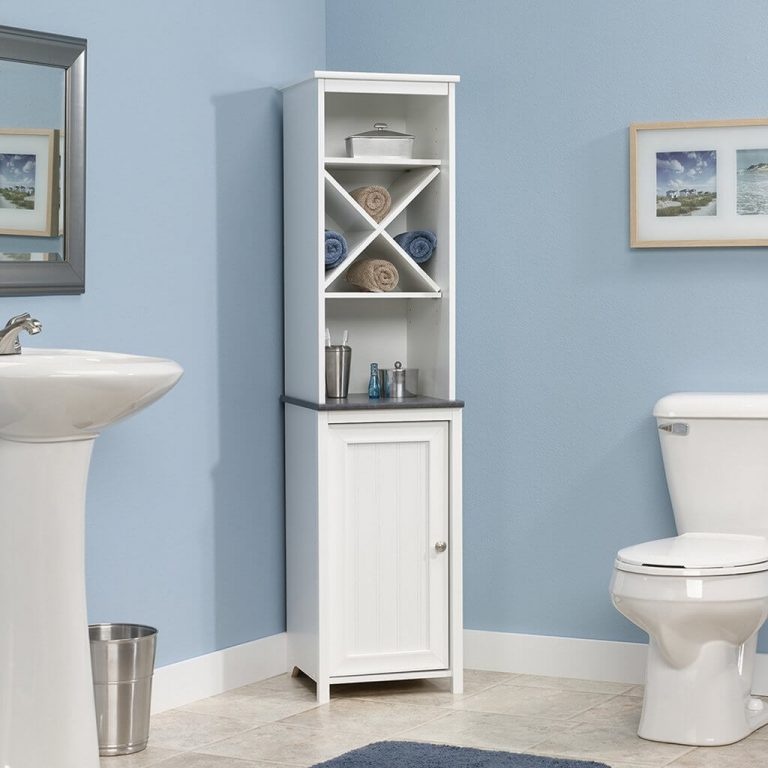 8 Best Bathroom Storage Cabinets For Small Spaces in 2020