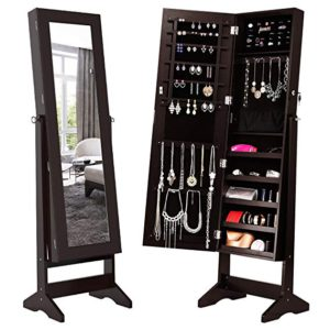 10 Best Full Length Mirror Jewelry Storage Cabinets of 2018