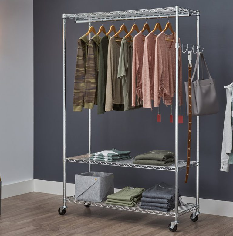 9 Best Heavy-Duty Clothes Rolling Racks of 2021