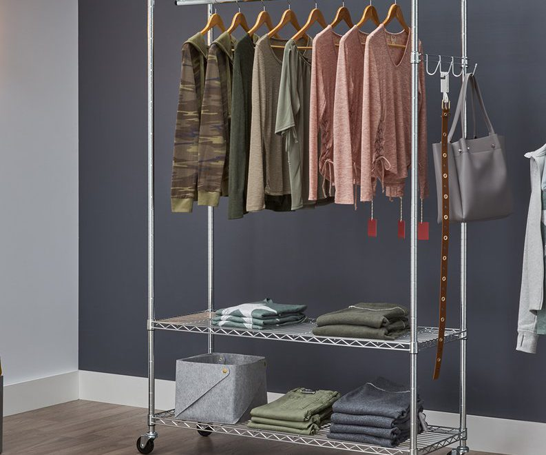 9 Best Heavy Duty Clothes Rolling Racks Of 2019 Peachy Rooms