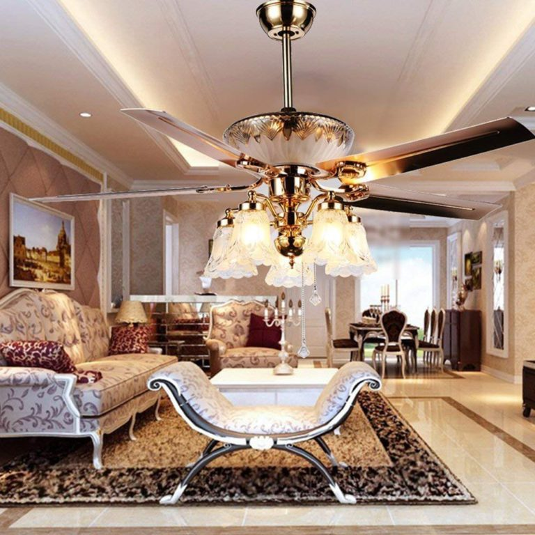 Top 15 Best Crystal Ceiling Fans 2020 Reviews