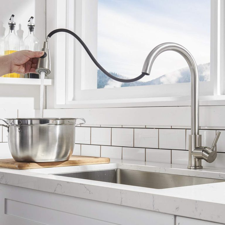 2021 10 Best Kitchen Faucets with Pull Down Sprayer