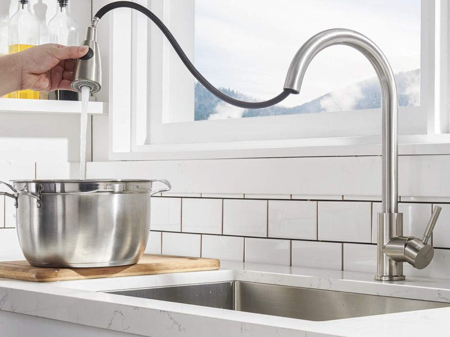 Best Kitchen Faucets with Pull Down Sprayer