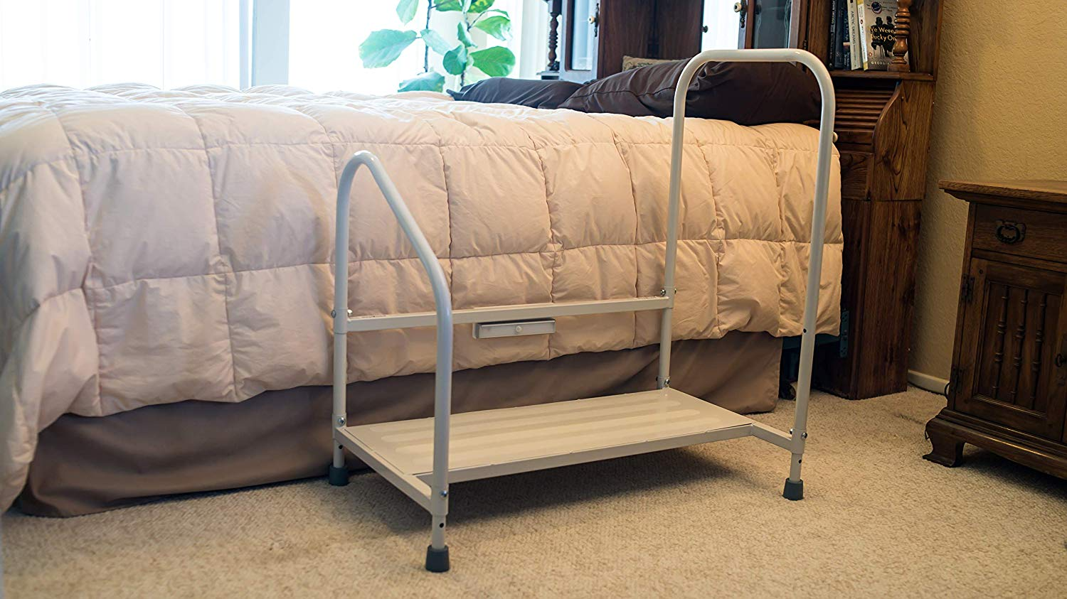 Bedside Step Stool for Seniors