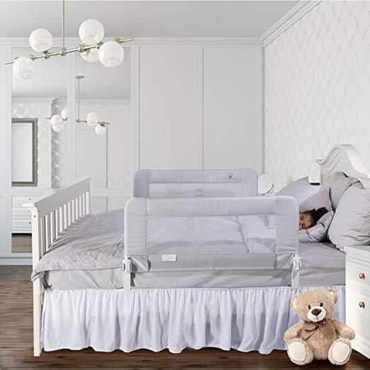 2020 5 Best Extra Long Bed Rails for Toddlers to Keep them in Bed