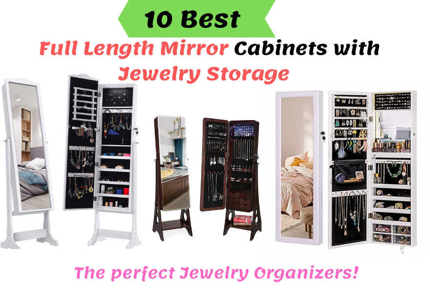 Best Full Length Mirror Jewelry Storage Cabinets