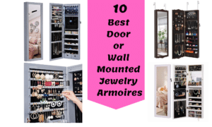 Best Door or Wall Mounted Jewelry Armoires