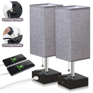Best Bedside Table Lamps with USB Ports