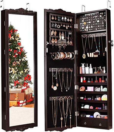 Best Over Door Jewelry Organizer Boxes