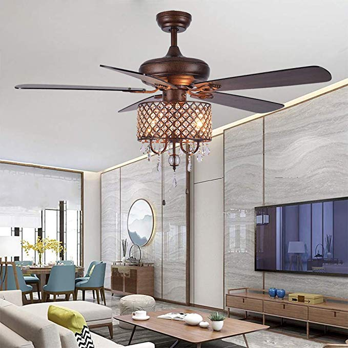 Chandelier Ceiling Fan