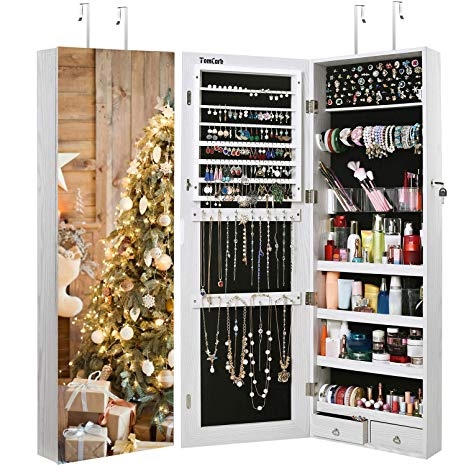 2021 10 Best Wall Hanging Jewelry Organizer Cabinet Armoires