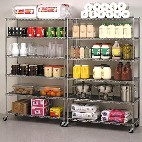 Best Heavy Duty Wire Shelving Racks on Wheels