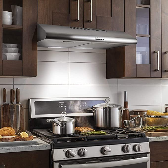 Best Ducted Under Cabinet Range Hoods