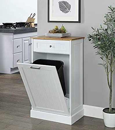 2020 7 Best Wooden Kitchen Trash Can Cabinets