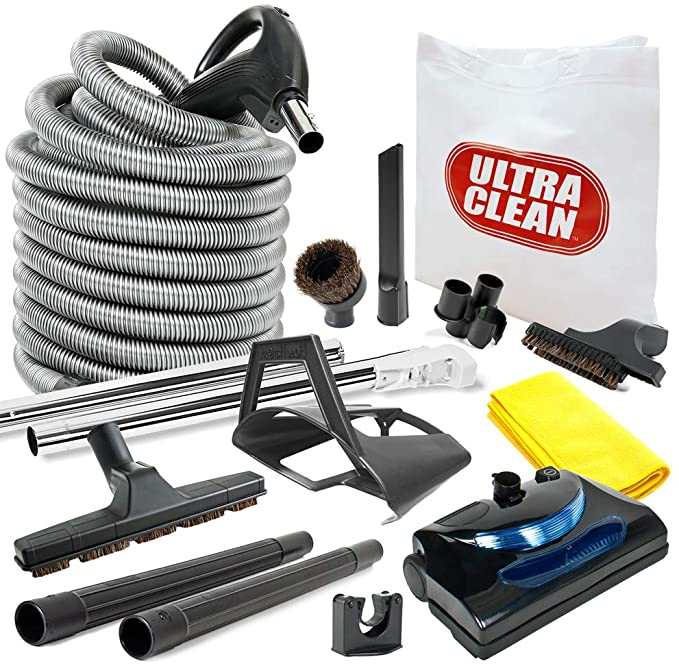 8 Best Central Vacuum Attachment Kits with Accessories 2021 Reviews