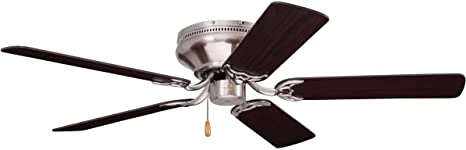 2021 10 Best Hugger Ceiling Fans Without Lights Review