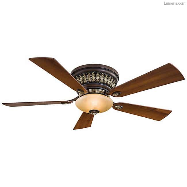 Best flush mount ceiling fans for low ceiling