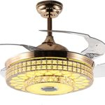 Best Hidden Blade Ceiling Fans with Folding Invisible Blades