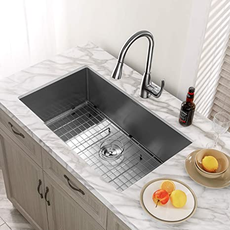 Best Single Bowl Stainless Steel Undermount Kitchen Sinks