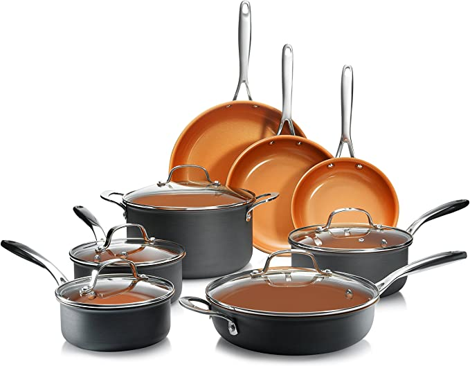 Best Hard Anodized Nonstick Cookware Sets