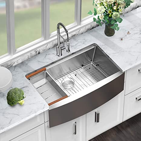 Best Undermount Farmhouse Kitchen Sinks