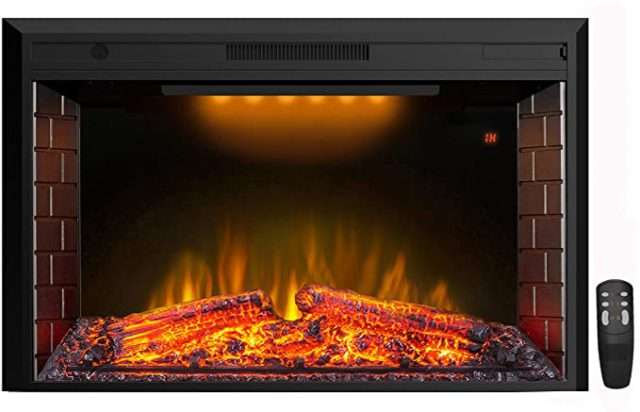 Best Electric Fireplace Inserts & Logs with Crackling Sounds