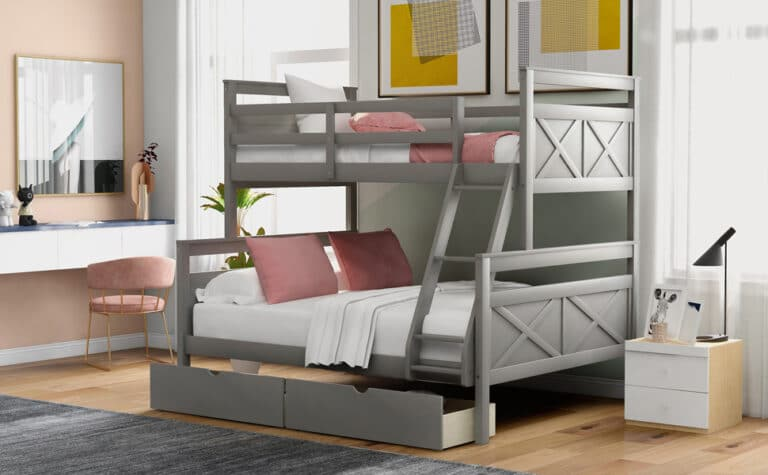 10 Best Twin Over Full Bunk Beds Reviewed in 2020