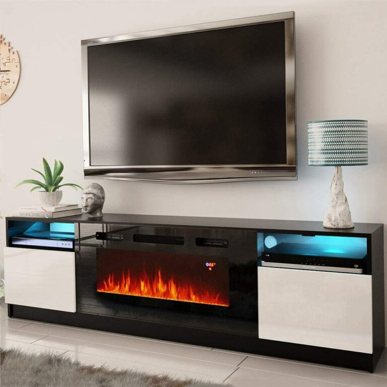 12 Best Electric Fireplace TV Stands Combos of 2021