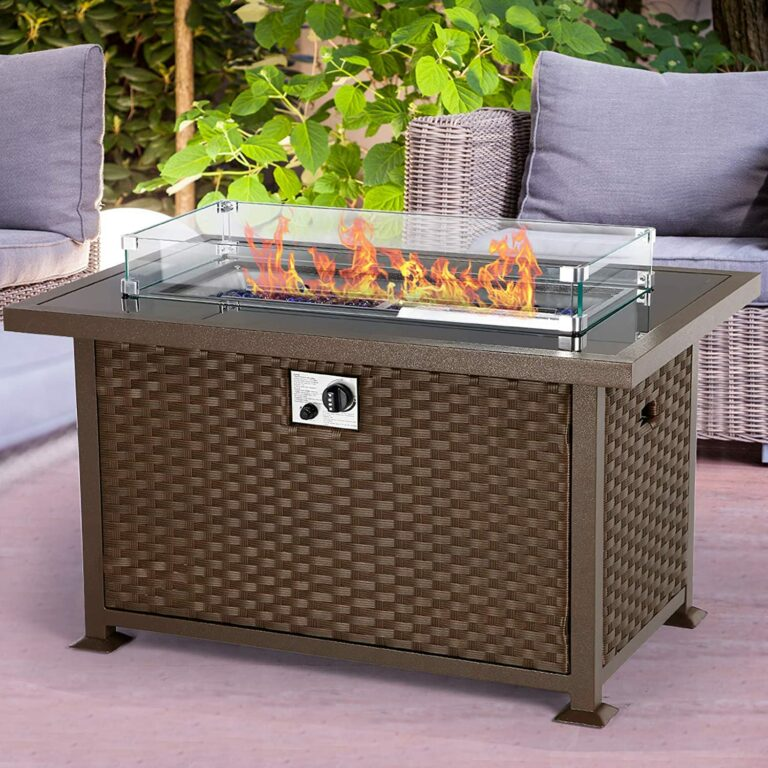 5 Top Rated Outdoor Fire Pit Tables of 2021