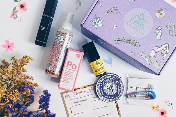 Review of the Feeling Fab Subscription Box of Wellness