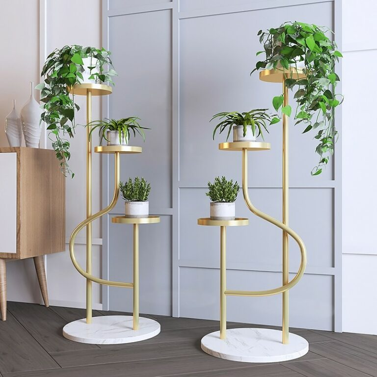 7 Tall Indoor Plant Stands Perfect for Injecting Natural Beauty