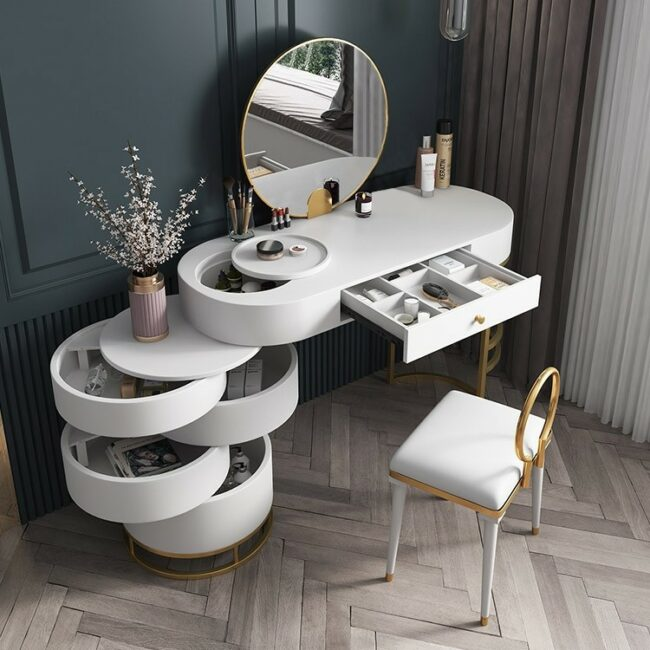 6 Best Large Makeup Vanity Table Sets With Drawers